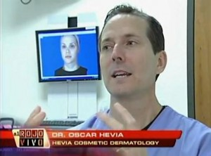 "Dr. Oscar Hevia on ""Al Rojo Vivo"", New 3D Technology"